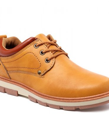 Casual All Season Stitching Pu Leather Casual Shoes