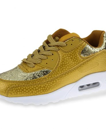 Sequined Cloth Trendy Sports Womens Sneakers