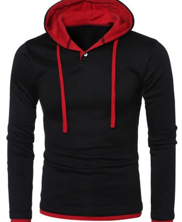 Multi Colour Pullover Hoodie for Mens