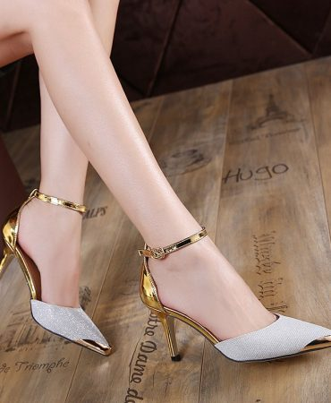 Two Colors Fashion Womens Pumps