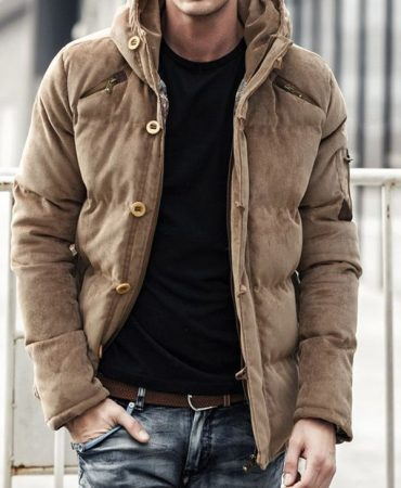 Winter Fashion Hooded Padded Jacket