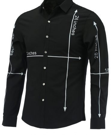 Casual Button Design Long Sleeve Modern Mens Shirt