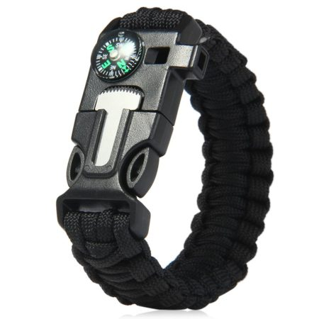 Camping Hiking Survival Gear Bracelet