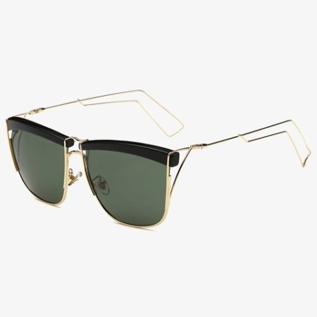 Green Trendy Fashion Sunglasses For Men