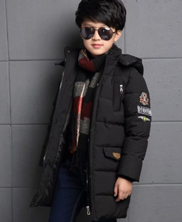Winter Padded Hooded Fashion Boys Jacket