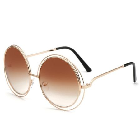 Hollow Design Trendy Fashion Sunglasses For Women