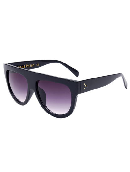 Black Fashion Trendy Unisex Sunglasses