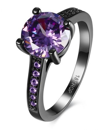 Noble Womens Elegant Fake Gemstone Ring
