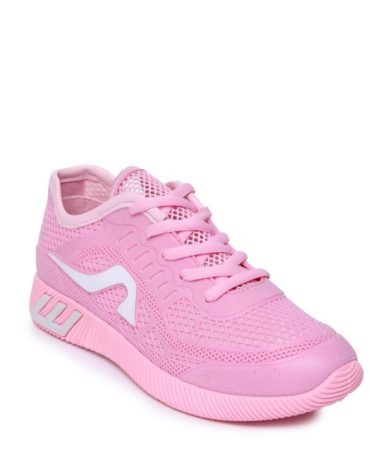Breathable Spring Fall Lace Up Trendy Womens Sneakers