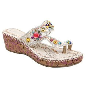 Rome Style Outdoor Summer Wedge Heel Womens Slippers
