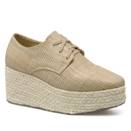 Casual Pu Spring Autumn Espadrille Womens Platform Shoes