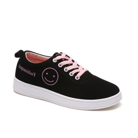 Breathable Canvas Spring Fall Female Shoes