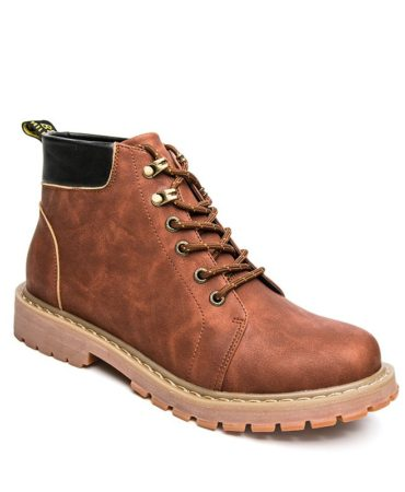 Solid Fall Winter Waterproof Mens Boots