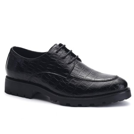 Mens Dress Shoes With Lace-Up and Fashionable Design