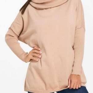 Fashionable Fall Winter Solid Elegant Womens Sweater