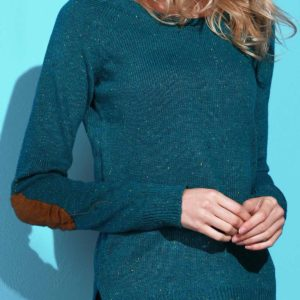 Green Fashion Pullovers Sweater for Ladies