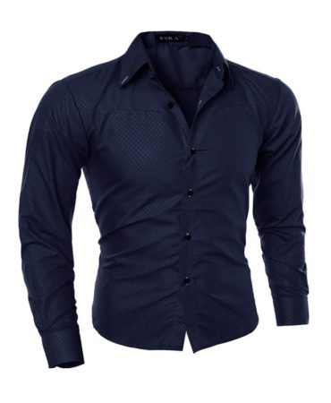 Fashion Casual Long Sleeve Men's Shirt