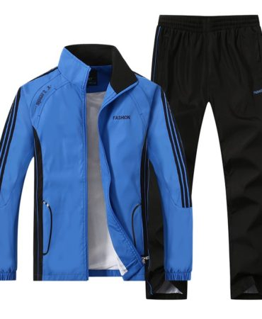 Thin Cotton Microfiber Sports Suit for Men