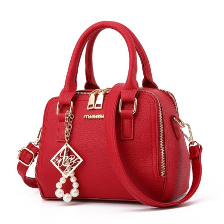 Women's Fashion Red Handbag
