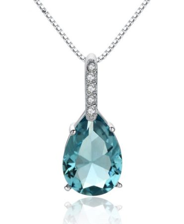 Fashion Crystal Ladies Pendant Necklace