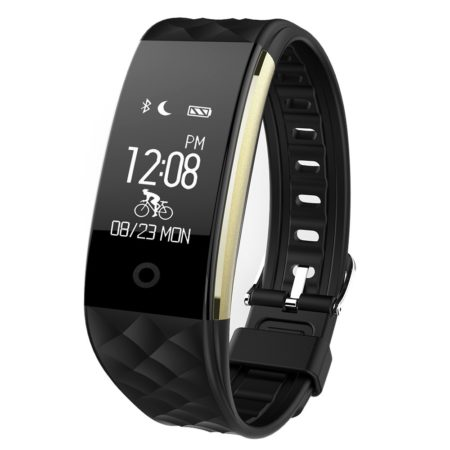 Bluetooth Sport Slip Heart Rate Monitor Smart Watch