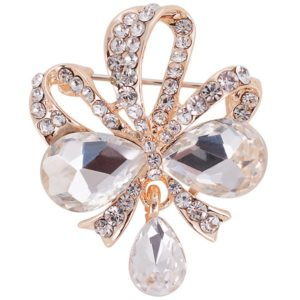 Trendy Rhinestone Brooch for Women