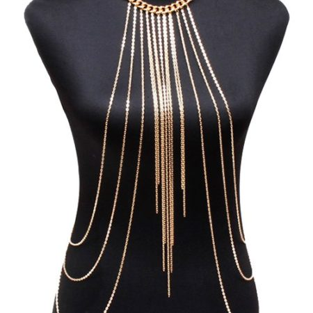 Vintage Golden Color Body Chain