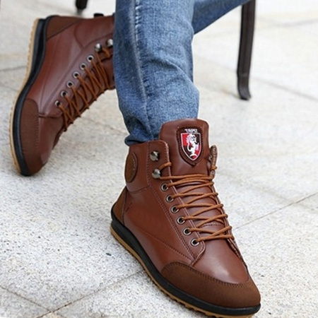 Men/'s Fashion Casual Sneaker Lace up Shoes Fall/&Winter Ankle Boots Flats Shoes