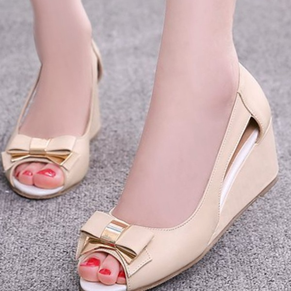 Elegant Womens Wedge Sandals Cute Summer SUqpzMVG
