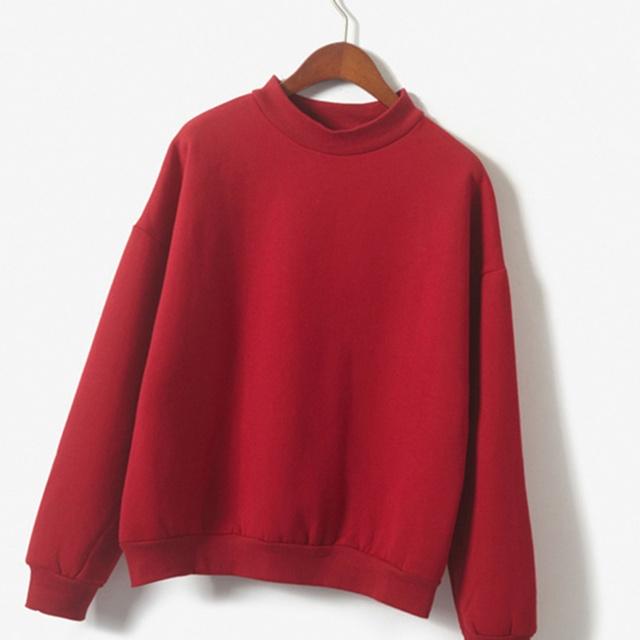 Casual Cotton Cute Womens Sweatshirt
