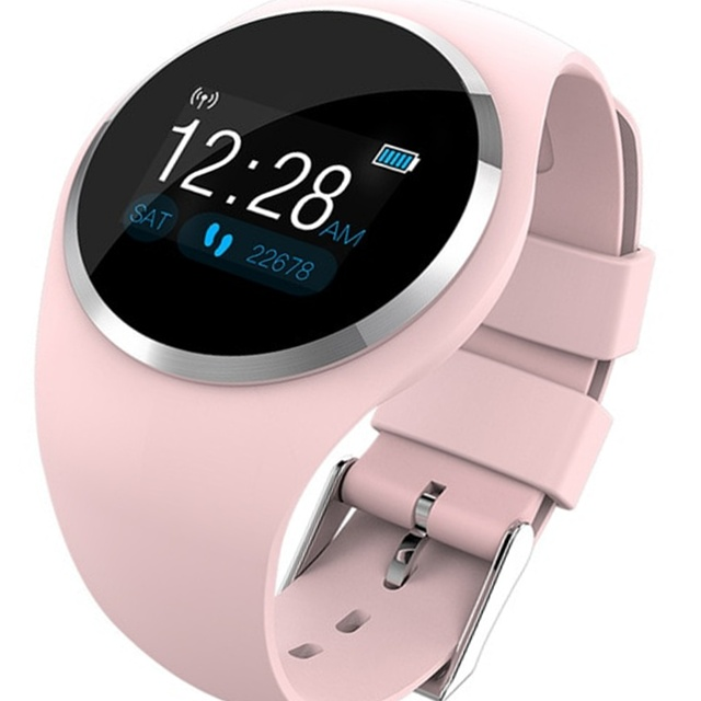 e38b0b9435bb Bluetooth Elegant Heart Rate Monitor Sports Fitness Women Smart Watch