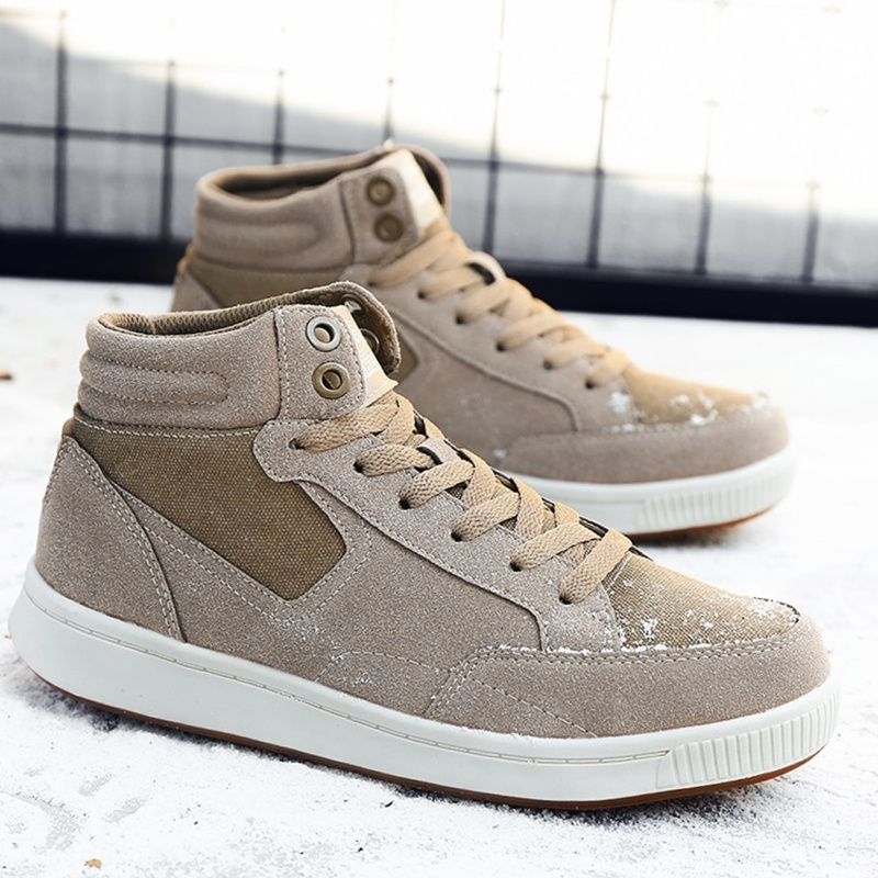 Winter Suede Men Ankle Boots Sneakers