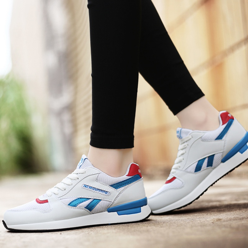 Athletic Leather Running Mens Sport Shoes