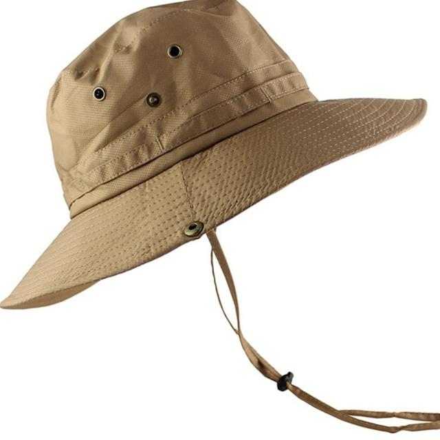 ee1fab4c5 Breathable Men Women Sports Fishing Hiking Beach Sun Hat