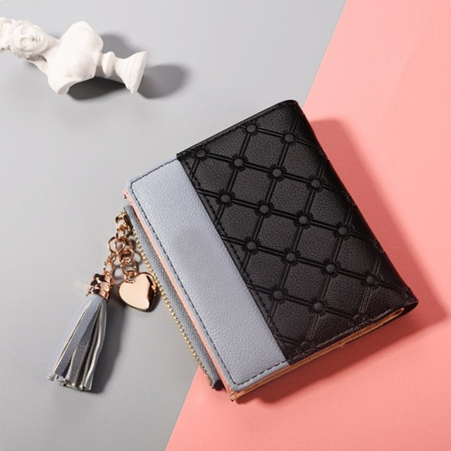 Fashion Card Holder Soft Leather Womens Cute Wallets2