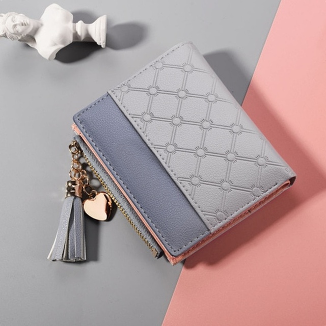 Fashion Card Holder Soft Leather Womens Cute Wallets6