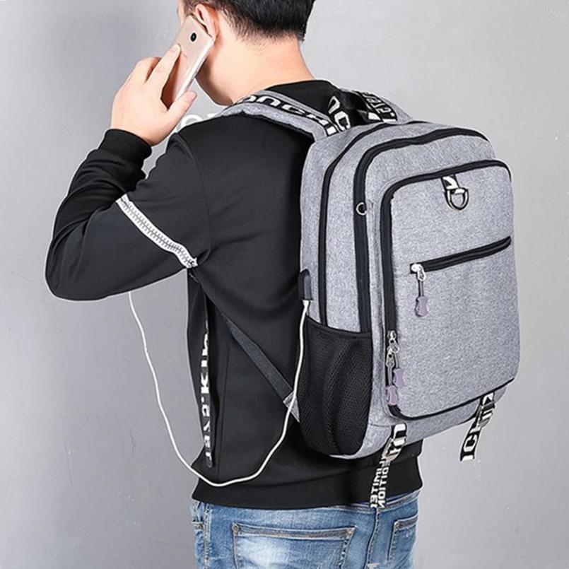 Shoulder Teenagers Boys School Backpack Bags